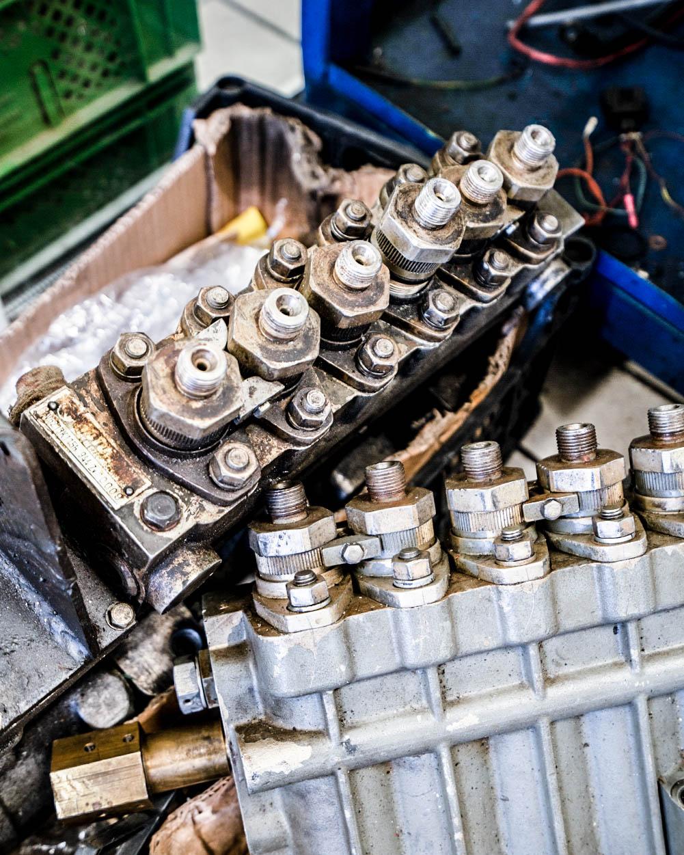Traktorių remontas - DIZRIDA